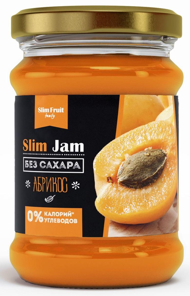 "Джем ""Slim Fruit"" 0% Абрикос, 250 мл"
